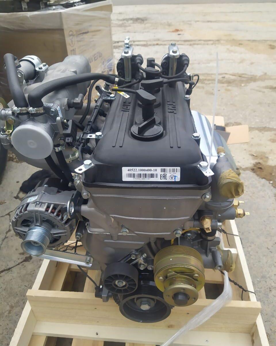 Замена двигателя газель
